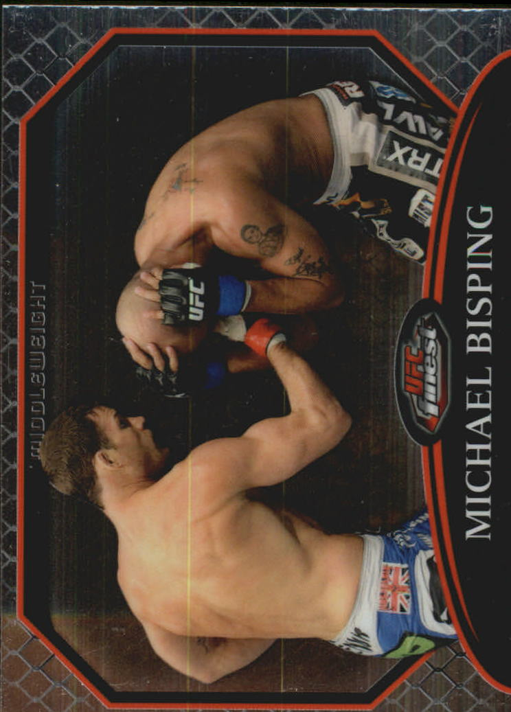 2011 Finest UFC #18 Michael Bisping