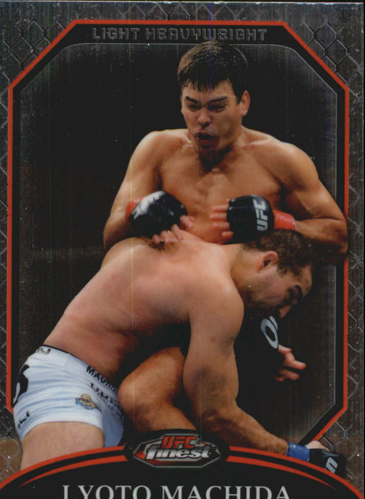 2011 Finest UFC #25 Lyoto Machida
