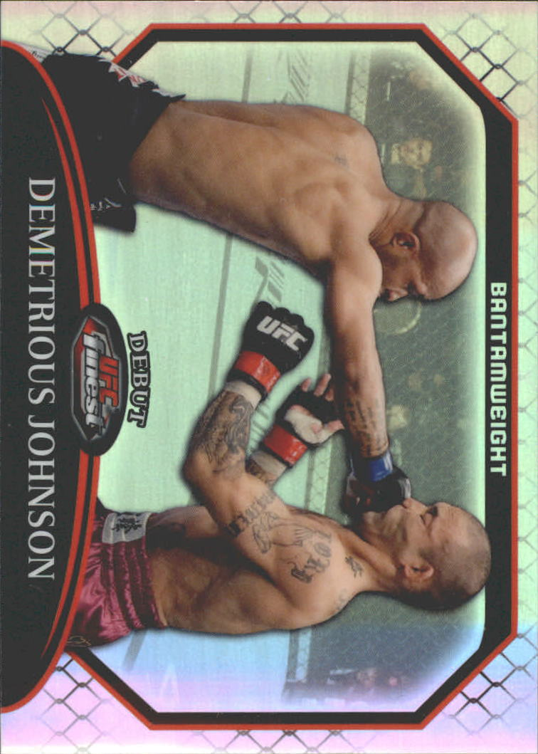 2011 Finest UFC Refractors #33 Demetrious Johnson