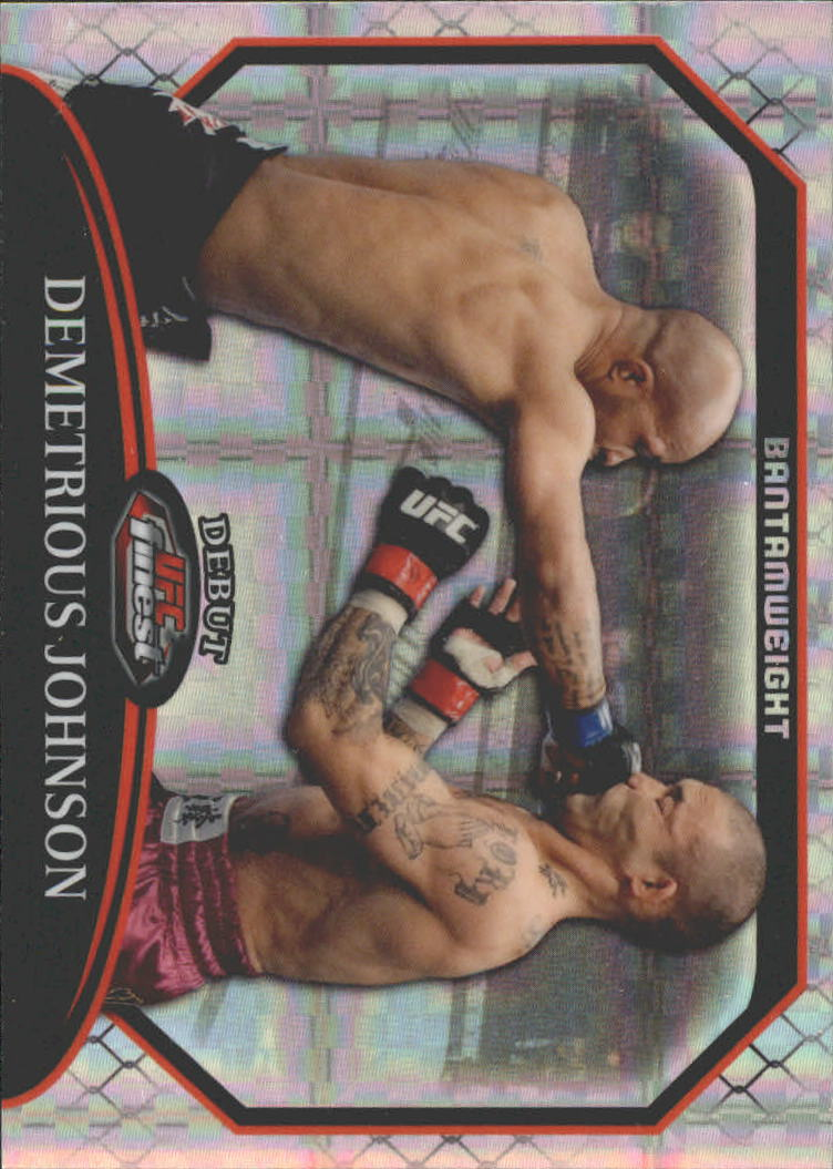 2011 Finest UFC X-Fractors #33 Demetrious Johnson