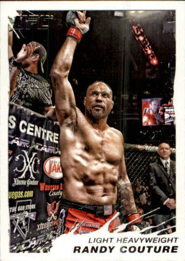 2011 Topps UFC Moment of Truth #1 Randy Couture