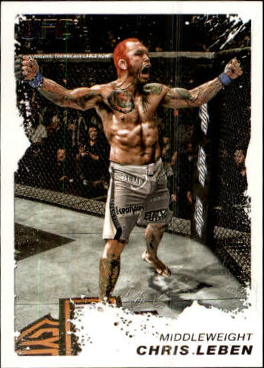 2011 Topps UFC Moment of Truth #12 Chris Leben