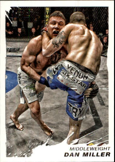 2011 Topps UFC Moment of Truth #19 Dan Miller