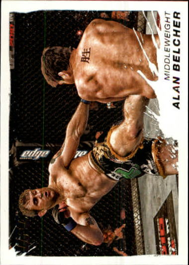 2011 Topps UFC Moment of Truth #57 Alan Belcher