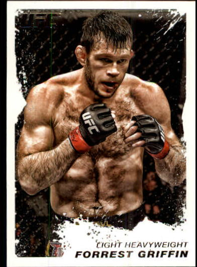 2011 Topps UFC Moment of Truth #80 Forrest Griffin