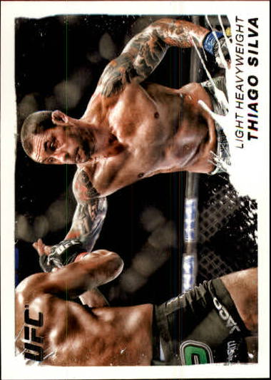 2011 Topps UFC Moment of Truth #142 Thiago Silva