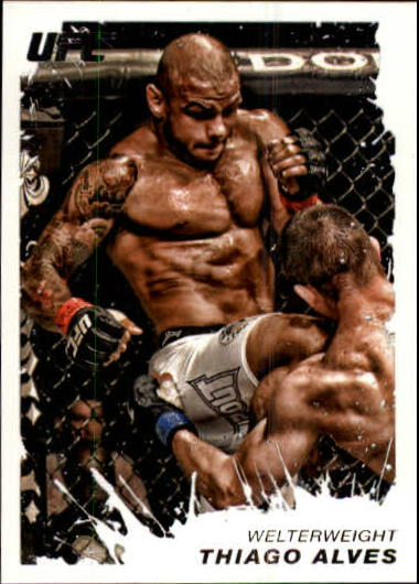 2011 Topps UFC Moment of Truth #148 Thiago Alves