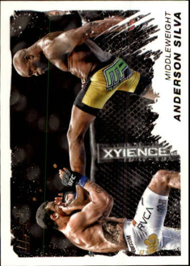 2011 Topps UFC Moment of Truth #165 Anderson Silva
