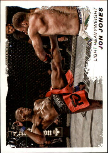 2011 Topps UFC Moment of Truth #205 Jon Jones