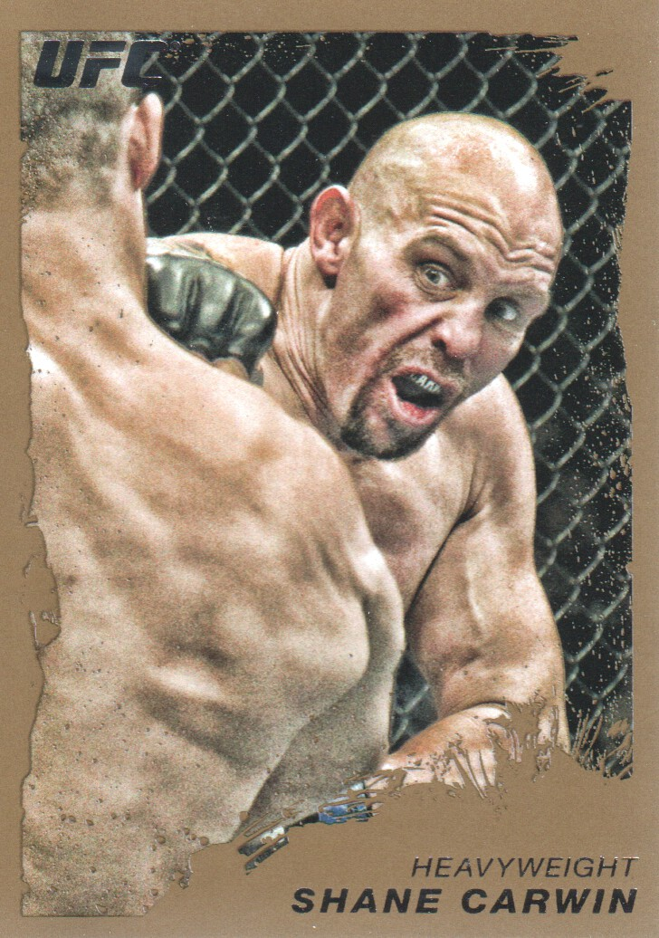 2011 Topps UFC Moment of Truth Gold #6 Shane Carwin