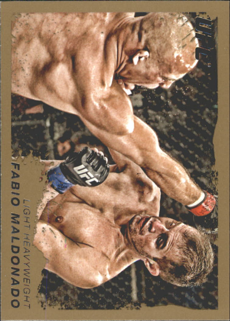 2011 Topps UFC Moment of Truth Gold #209 Fabio Maldonado