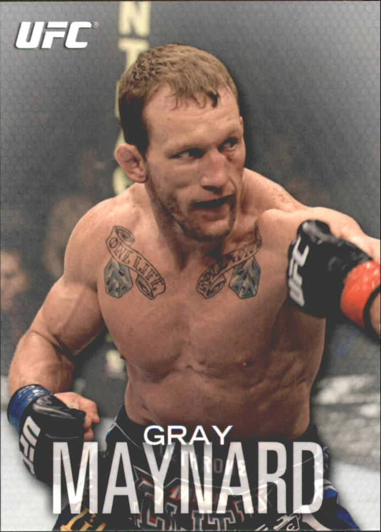 2012 Topps UFC Knockout #36 Gray Maynard