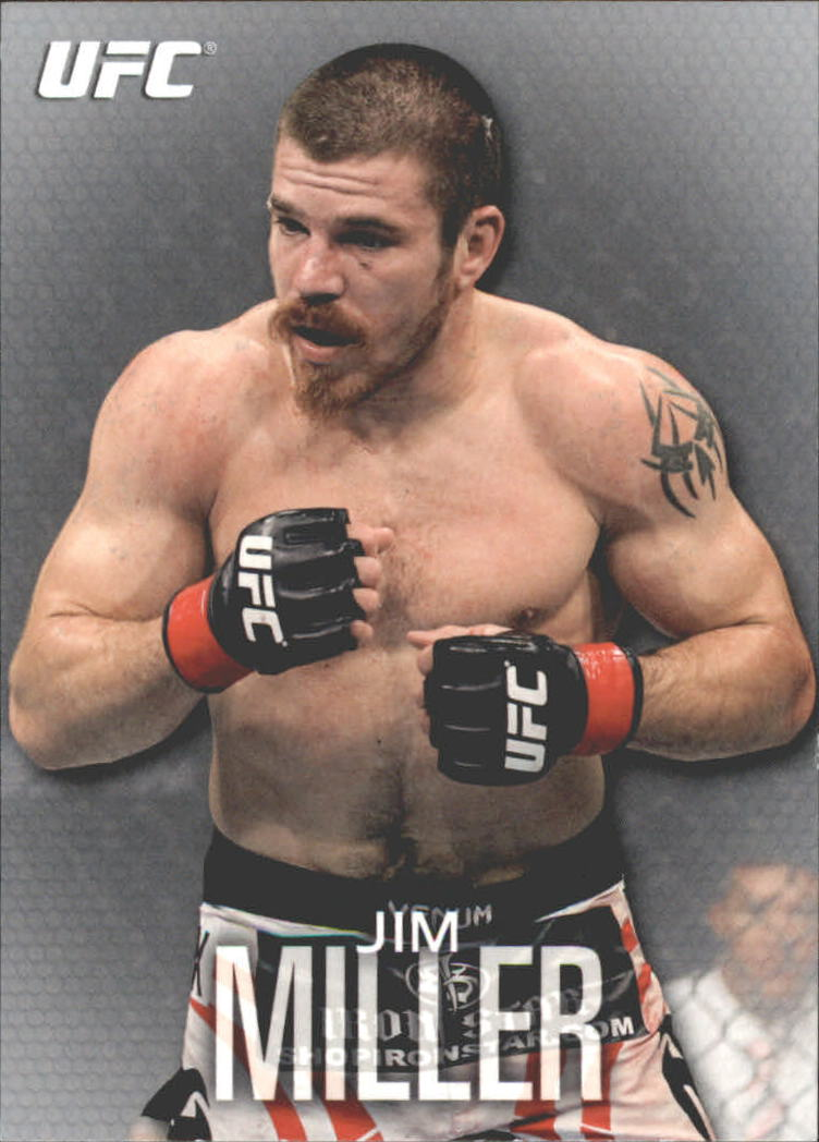 2012 Topps UFC Knockout #99 Jim Miller