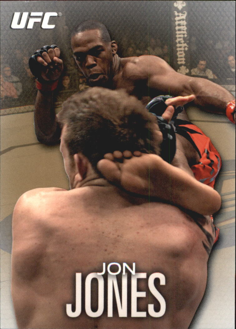 2012 Topps UFC Knockout Gold #43 Jon Jones