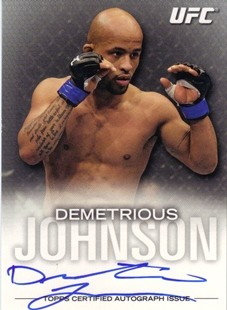 2012 Topps UFC Knockout Autographs #FADJ Demetrious Johnson/159
