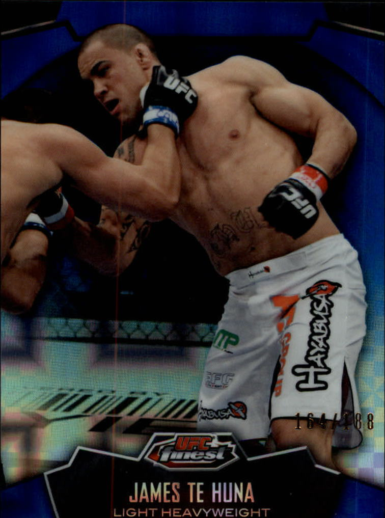 2012 Finest UFC X-Fractors #13 James Te Huna