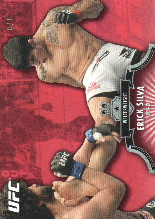 2012 Topps UFC Bloodlines Red #109 Erick Silva