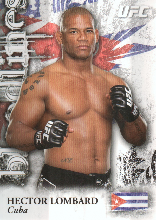 2012 Topps UFC Bloodlines Bloodlines #BLHL Hector Lombard