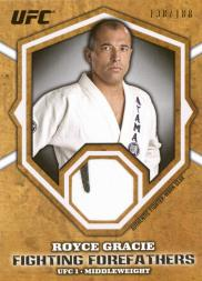 2012 Topps UFC Bloodlines Fighting Forefathers Relics #FFRRG Royce Gracie