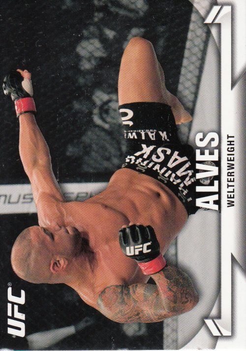 2013 Topps UFC Knockout #2 Thiago Alves
