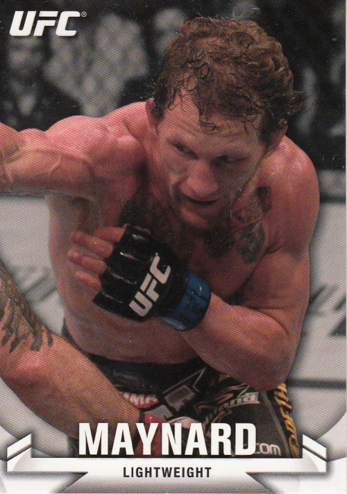 2013 Topps UFC Knockout #7 Gray Maynard