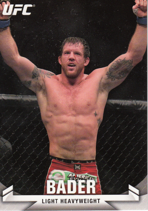 2013 Topps UFC Knockout #9 Ryan Bader