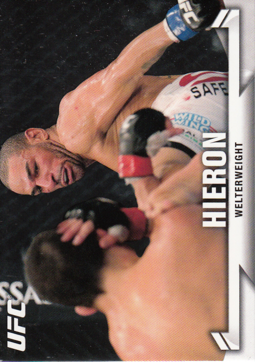 2013 Topps UFC Knockout #12 Jay Hieron