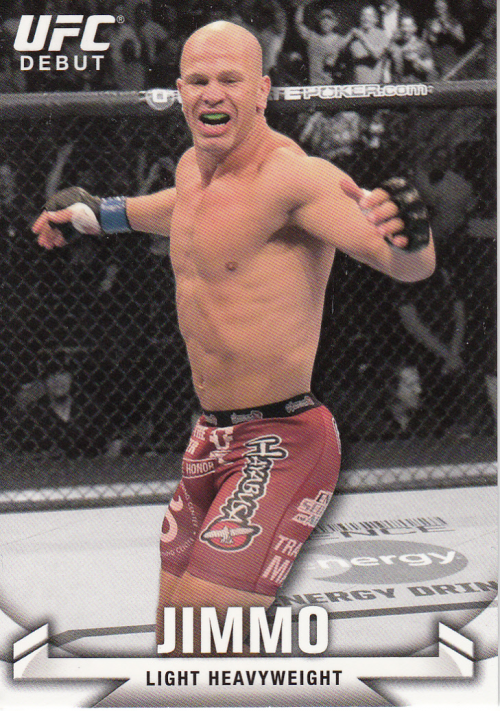 2013 Topps UFC Knockout #13 Ryan Jimmo