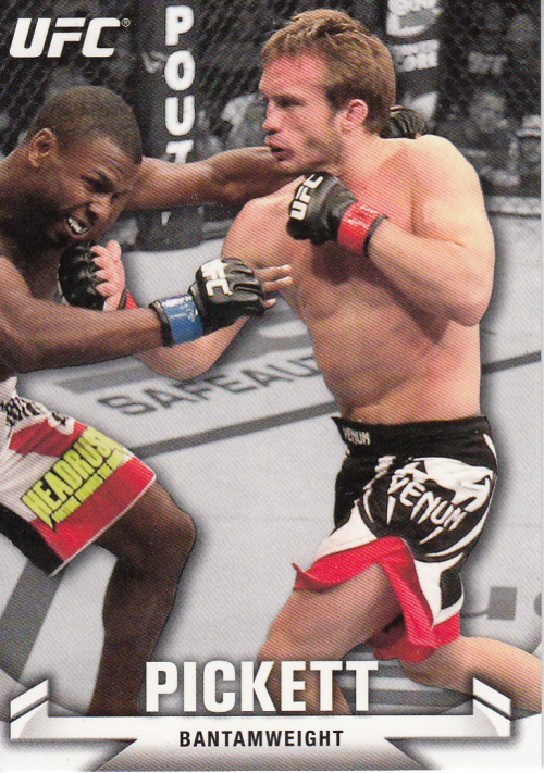 2013 Topps UFC Knockout #17 Brad Pickett