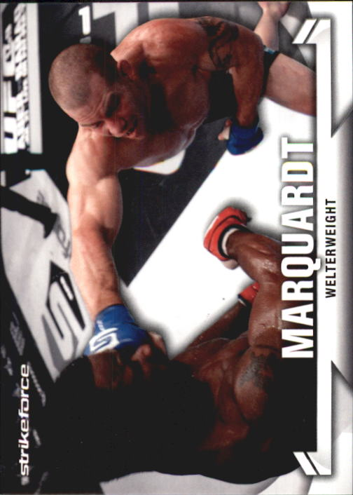2013 Topps UFC Knockout #22 Nate Marquardt