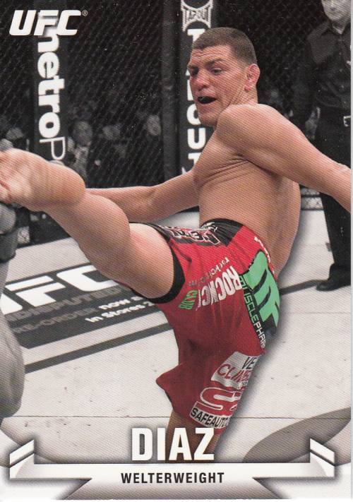 2013 Topps UFC Knockout #24 Nick Diaz