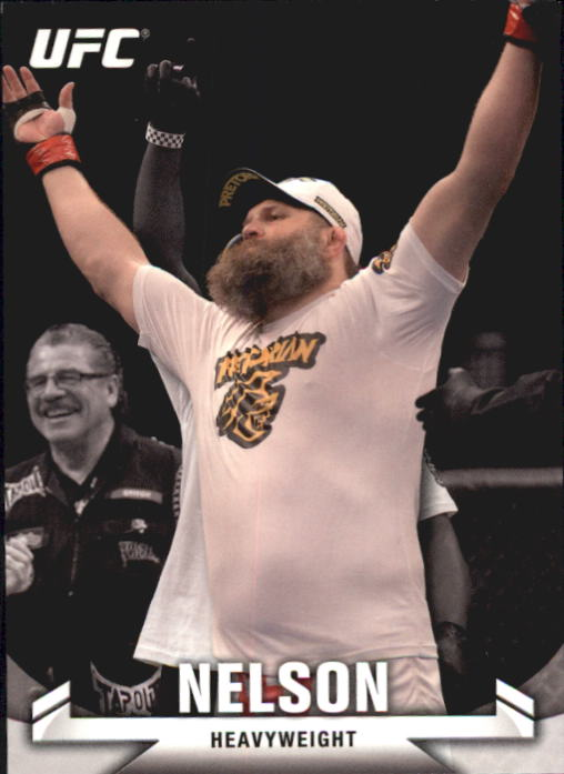 2013 Topps UFC Knockout #32 Roy Nelson