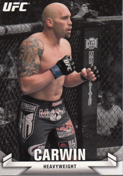 2013 Topps UFC Knockout #75 Shane Carwin