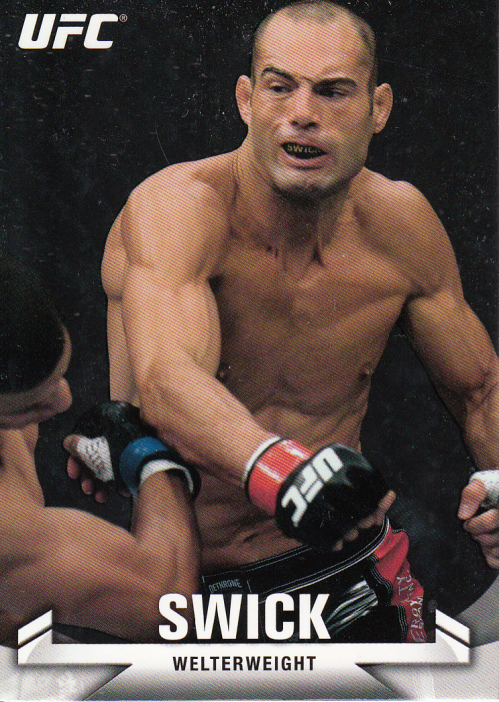 2013 Topps UFC Knockout #118 Mike Swick