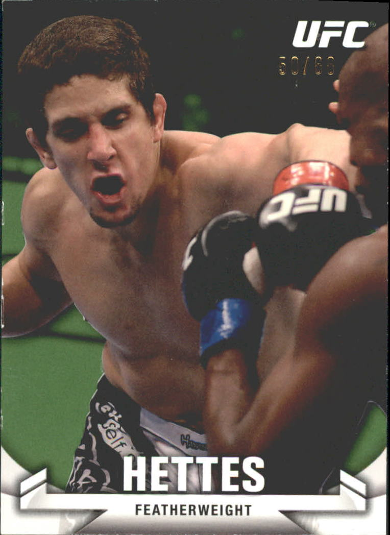 2013 Topps UFC Knockout Green #59 Jimy Hettes