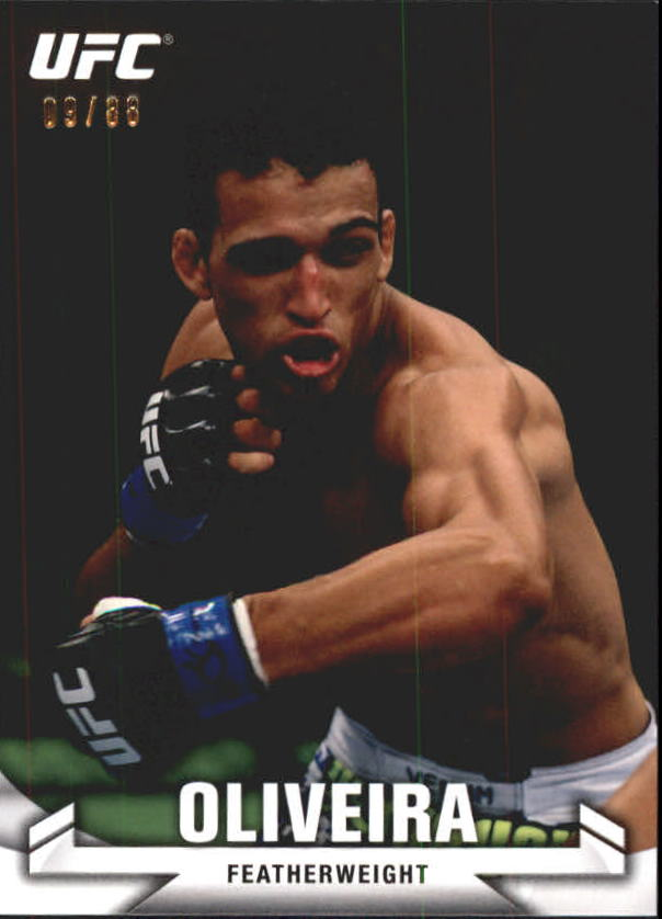 2013 Topps UFC Knockout Green #67 Charles Oliveira