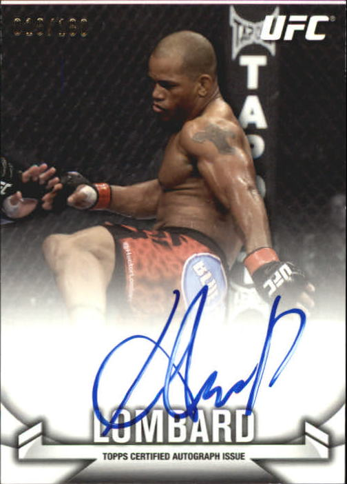 2013 Topps UFC Knockout Autographs #KAHL Hector Lombard/180