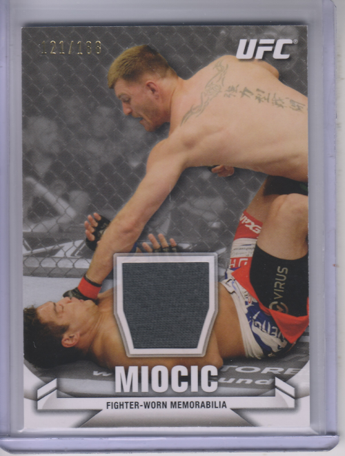 2013 Topps UFC Knockout Fighter Relics #KRSM Stipe Miocic