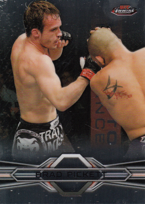 2013 Finest UFC #13 Brad Pickett