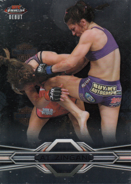 2013 Finest UFC #19 Cat Zingano