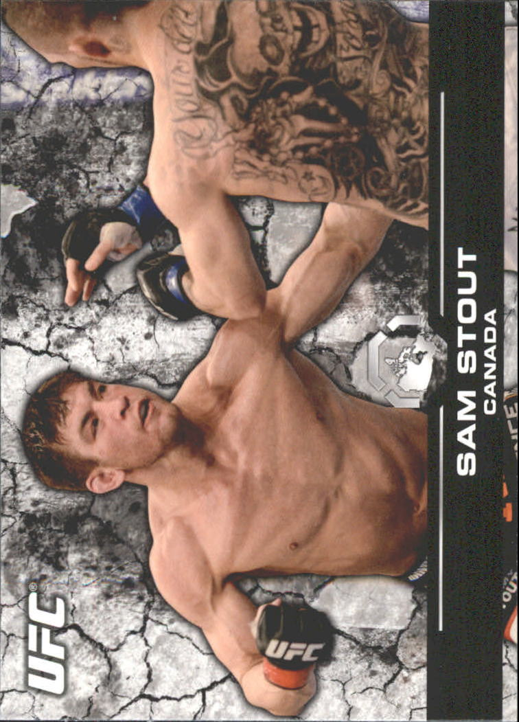 2013 Topps UFC Bloodlines #124 Sam Stout