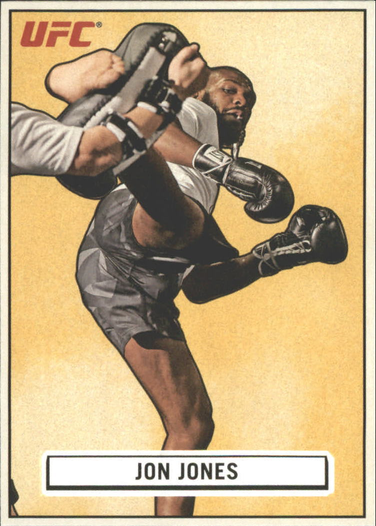 2013 Topps UFC Bloodlines Octagon-Side #OSJJ Jon Jones