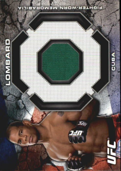 2013 Topps UFC Bloodlines Fighter Relics #BRHL Hector Lombard