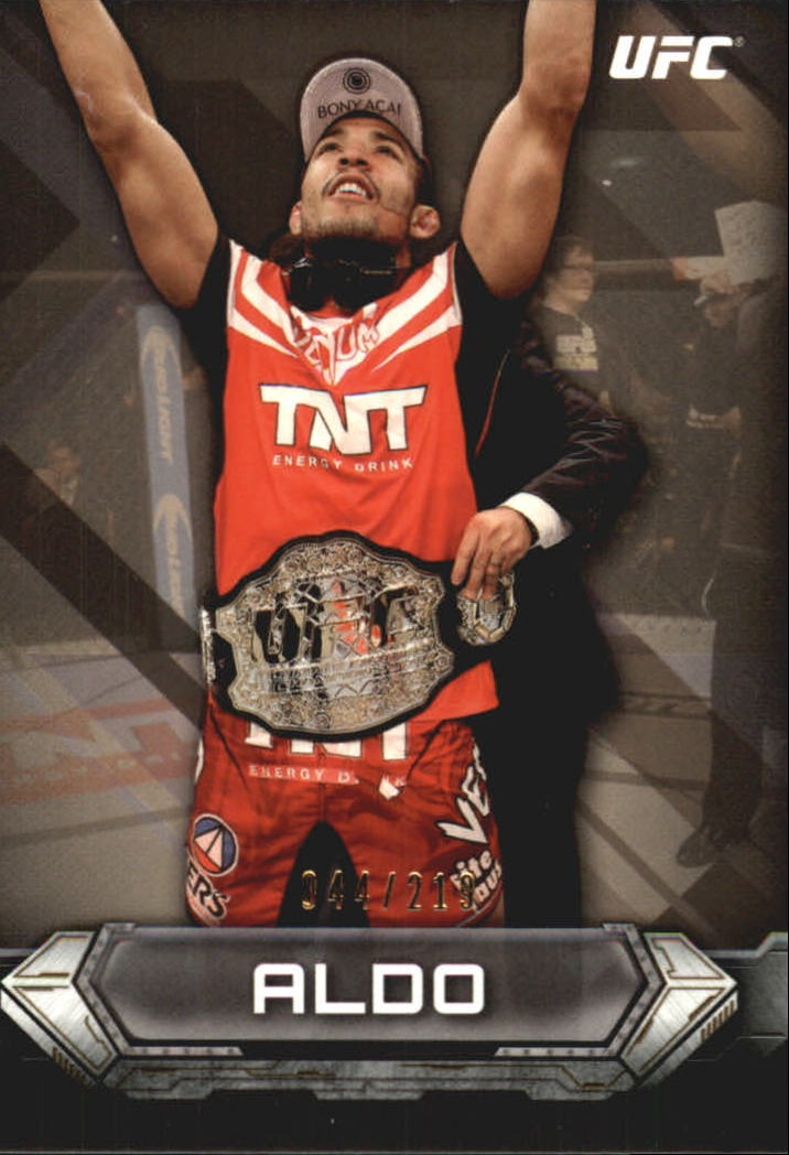 2014 Topps UFC Knockout Gold #13 Jose Aldo