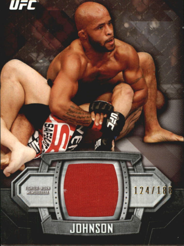 2014 Topps UFC Knockout Relics #KRDJ Demetrious Johnson