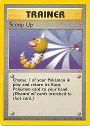 1999 Pokemon Base Unlimited #78  Scoop Up (R)