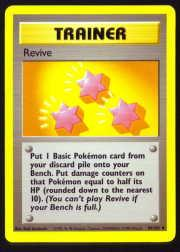 1999 Pokemon Base Unlimited #89  Revive (U)