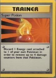 1999 Pokemon Base Unlimited #90  Super Potion (U)