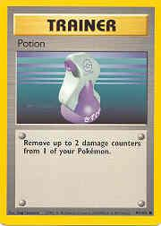 1999 Pokemon Base Unlimited #94  Potion (C)