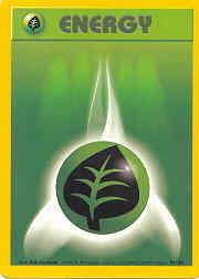 1999 Pokemon Base Unlimited #99  Grass Energy (C)